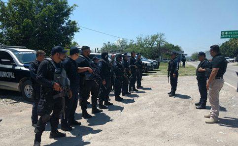 Despliegan operativo para vigilar límites entre SLP y Qro