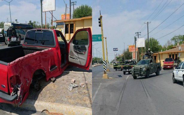 Persecución y balacera en Tamaulipas deja dos heridos
