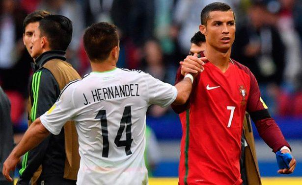 México sobrevive a Portugal y empata en Copa Confederaciones
