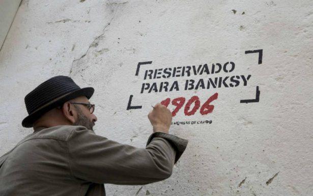 """Banksy deja plantados a artistas y no pinta """"Las Meninas"""""""