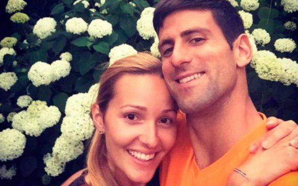 ¡Otra vez papá! Djokovic y su esposa Jelena reciben a la pequeña Tara