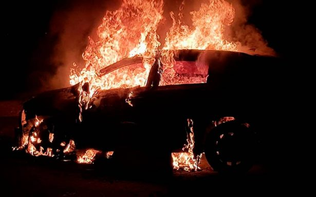 Explota pipa de gas LP en autopista Puebla-Córdoba tras choque múltiple