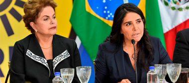 Rousseff reflexiona sobre retos de América Latina con líderes del PRD