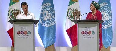 Peña Nieto emite declaratoria del Foro de Líderes