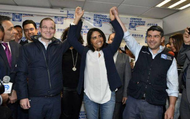 Panistas de la CDMX arropan a Alejandra Barrales