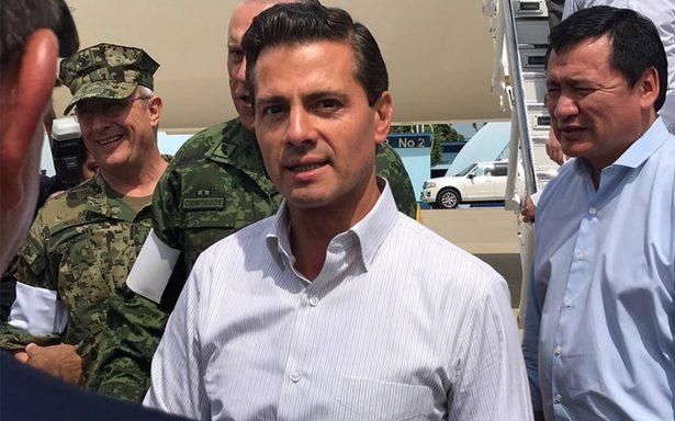 Peña Nieto regresa a Oaxaca para atender afectados por sismo