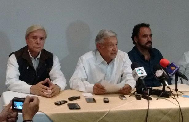 Muro en frontera EU-México no reducirá migración: López Obrador