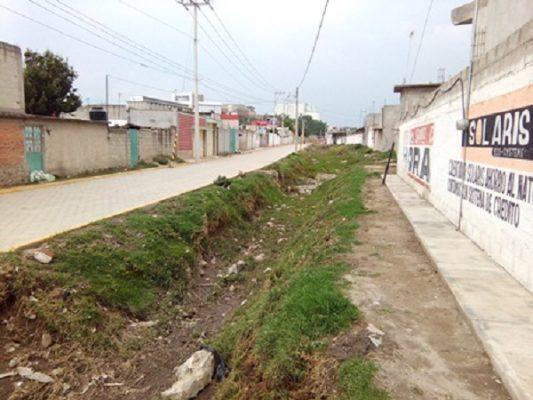 Alarma a vecinos bajada de agua por precipitaciones en Nopalucan