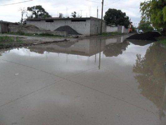 Temen inundación  20 familias de  San José Chiapa