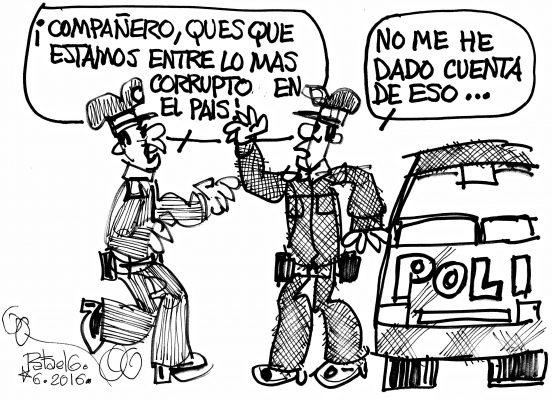 Polis corruptos?