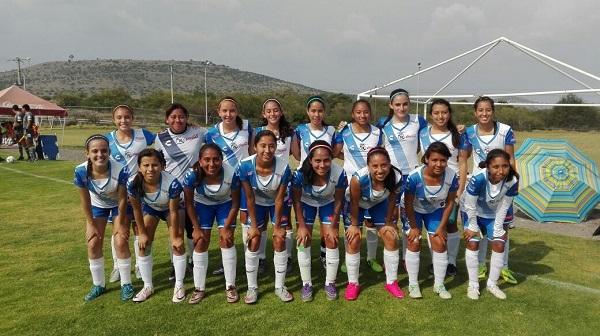 Selección Femenil Puebla y su primera alegría