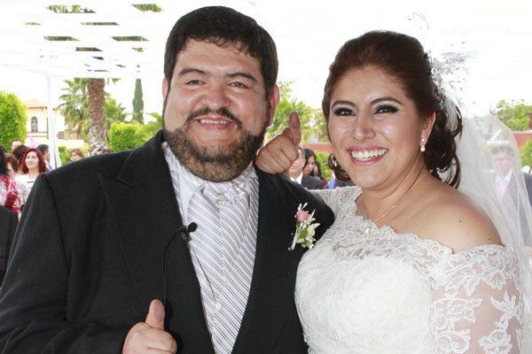 Mariano y Lorena se unieron en matrimonio civil