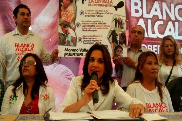 Blanca Alcalá presenta propuestas a ediles auxiliares