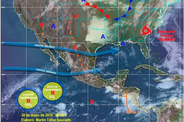 Clima de locos en Puebla, se esperan lluvias y calor