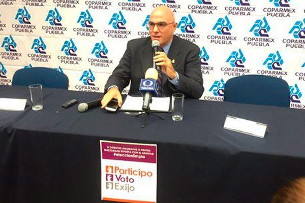 Afiliados a Coparmex expresan inquietudes a Antonio Gali