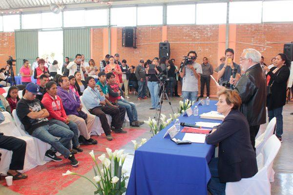 CNDH acredita cumplimiento de disculpa pública en el caso Chalchihuapan