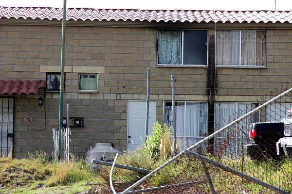Se incendia vivienda en Geovillas Las Garzas