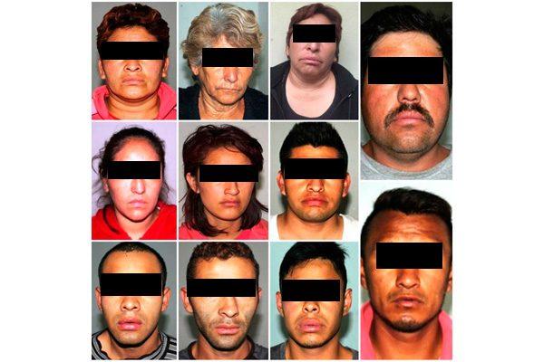 """Caen """"Los Mollejas"""", la Fiscalía captura a 11 de sus integrantes"""
