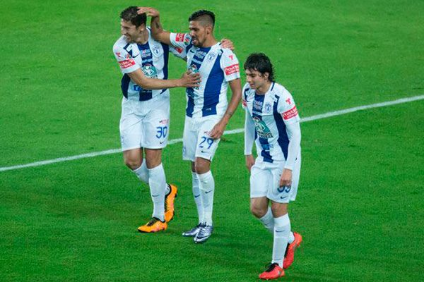 Pachuca saca ventaja 1-0 contra Monterrey