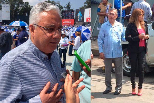 Priistas presentes en el cierre de campaña de Antonio Gali