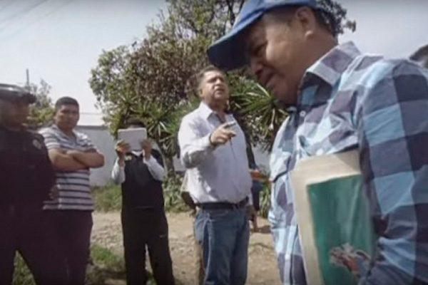 Disputa entre edil de Teteles y habitantes de Yaonáhuac por obra en zona limítrofe