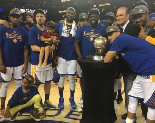 Warriors de Golden State ganan la Final de la Conferencia Oeste