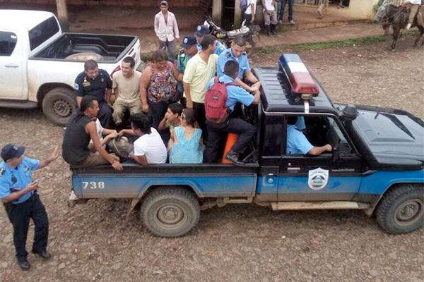 Deportan a Honduras a mexicanos detenidos en Nicaragua