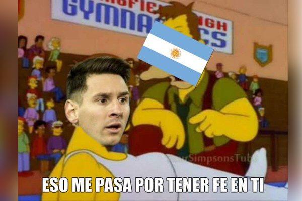 Los memes de Messi