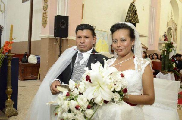 Fidel y Brisselda se unen en matrimonio