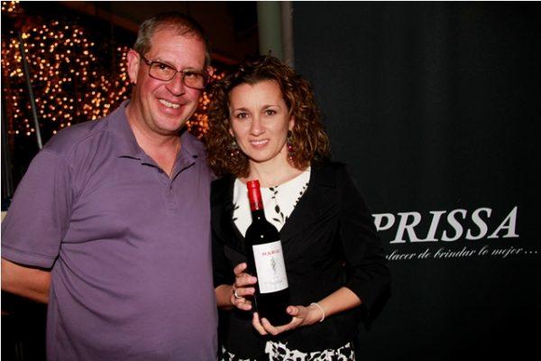 Prissa realizó una cena maridaje para presentar los vinos de Bodega Vega Clara