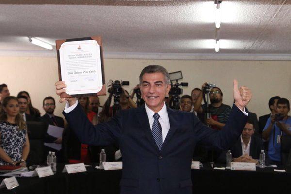 Tony Gali es gobernador electo de Puebla
