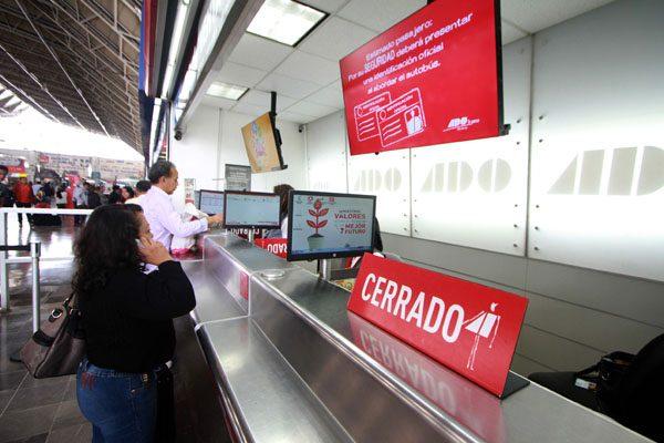 Suspende ADO sus 12 servicios diarios al estado de Oaxaca