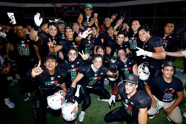 México logra bicampeonato en Mundial de Futbol Americano Colegial