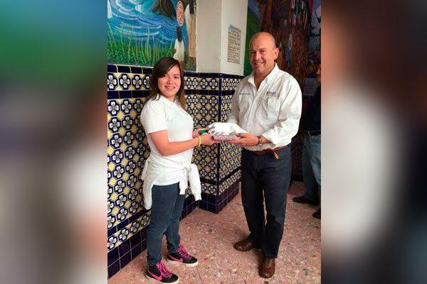Viaja estudiante de Atlixco como Embajadora de la Buena Voluntad a Italia