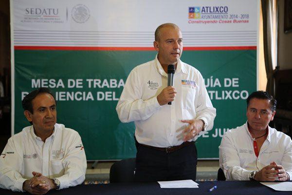 Actualizará Atlixco Atlas de Riesgo junto con la ONU