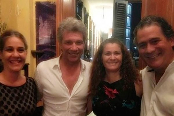 Bon Jovi de visita en Cuba