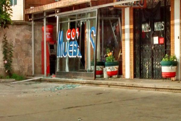 Vacían cajero Santander esta madrugada en Teziutlán