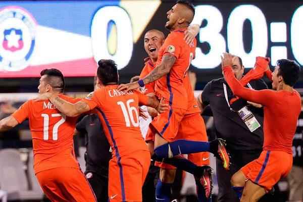 Chile logra el bicampeonato de la Copa América Centenario