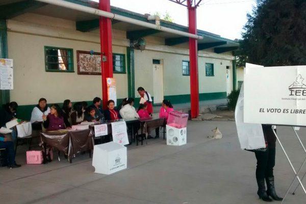 Impera abstencionismo durante jornada electoral en región de Cholula