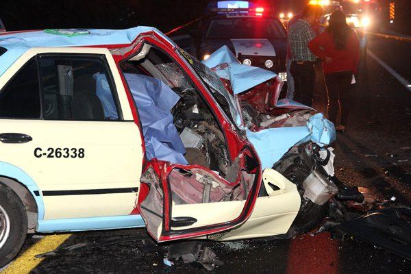 Se registra fatídico accidente en la Amozoc-Perote