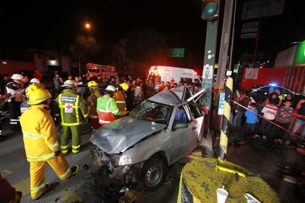 Libre el conductor que colisionó y mató a madre e hija
