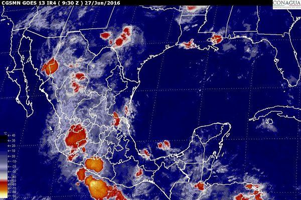 Continuará el mal clima en Puebla por canales de baja presión