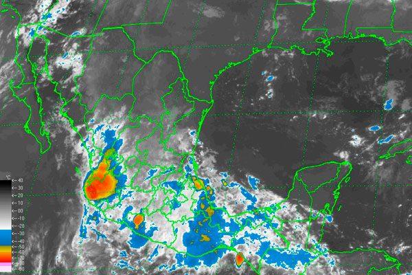 Emiten alerta naranja para el estado de Puebla por 'Danielle'