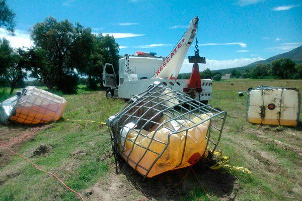 Aseguran otro camión con combustible ilícito en Tecamachalco
