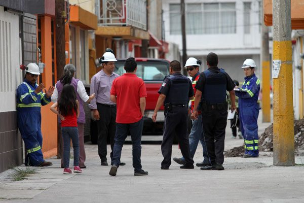 Causa alerta fuga de gas en Valle Dorado