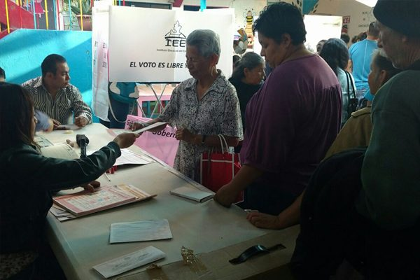 Fluyen las votaciones en Huauchinango