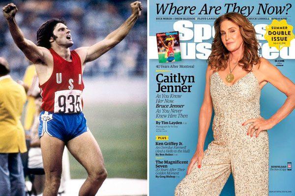 Caitlyn Jenner posa 40 años después con medalla olímpica
