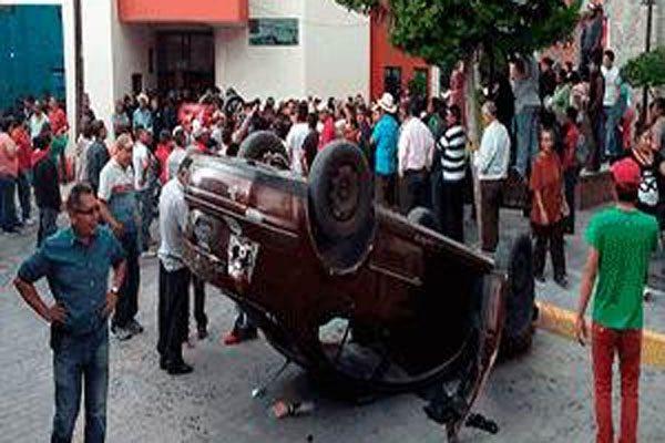 Pobladores de Zacualpan intentan linchar a presuntos delincuentes