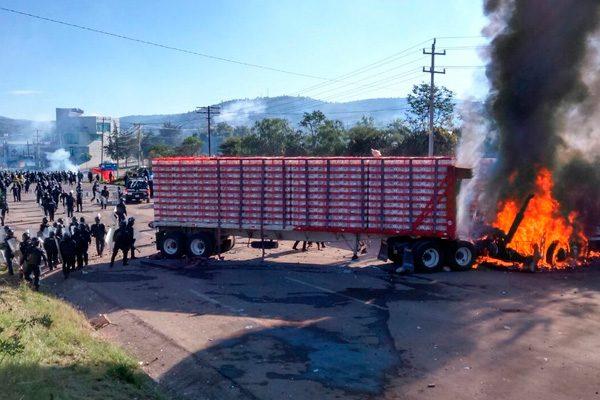 Afecta a empresarios avicultores enfrentamiento en Nochixtlán, Oaxaca