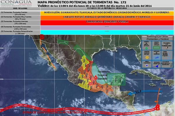 El ingreso de la nueva onda tropical No. 6 generará más lluvias